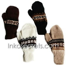 10 Alpaca wool Gloves, Convertible Mittens, Fingerless Gloves