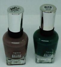 2 Shade Sally Hansen Complete Salon Manicure Nail Polish COMMAND CHIC SPRING MOS