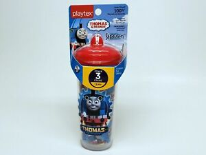 One Playtex Thomas & Friends 100 Percent Leak Proof Insulated Sipsters Cup 9 Oz