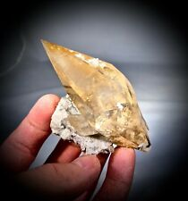 "Flawless Fine Quality Lustrous Golden Calcite from Elmwood, TN  ""The Gem Pocket"""