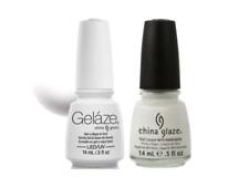 Gelaze Gel Polish & Nail Lacquer 0.5 oz x 2 Bottles