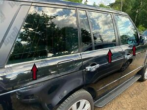 2002-2012 RangeRover L322 VOGUE Chrome Windows Frame Trim Strips 6pcs S.STEEL