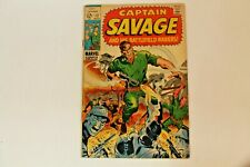 Captain Savage and His Battlefield/Leatherneck Raiders #12 Comic Book (1969)