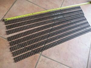 ROCO ALPIN LINE, FAMA, UTZ, SET OF 8 FLEX TRACK 0m SCALE. BRAND NEW
