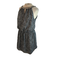 WHBM White House Black Market Tunic Style Mini Dress M Medium