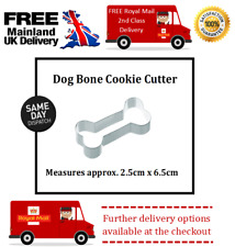 Dog Bone Cookie & Sugar Craft Cutter. Idéal pour gâteaux, cupcakes & Dog Treats