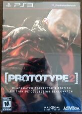 Prototype 2 Blackwatch Collector's Edition PS3 Playstation 3 - New Free Shipping
