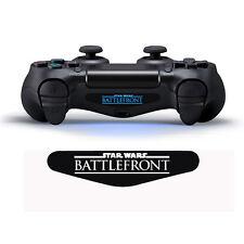 2x Star Wars Battlefront Controller Lightbar Sticker Aufkleber Ps4 Playstation 4