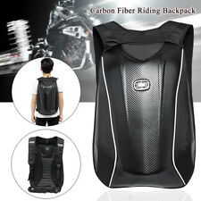 Universal Motorcycle Backpack Carbon Fiber Motocross Riding Racing Storage Bag