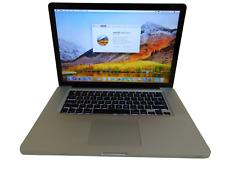 "Apple MacBook Pro Laptop - 2.4 GHz i5 4GB 500GB Cam SuperDrive 13.3"" A1278 8,1 1"