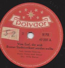 Fiabe di Sandor Ferenczy: dal asino, anche la città Bremer suonatore vengono WOL