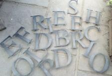 Vintage MID CENTURY 8 in Shop Letters in BRONZE EFFECT  Display etc  £14.99 Each