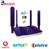 CPE LTE Modem 4G Router Mobile Sim Card WiFi Hotspot For Telstra Optus Vodafone