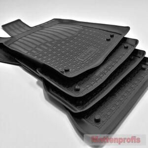 3D Gummimatten Gummifußmatten für Audi A6 4G C7 Limo + Avant ab Bj.2011-2018 NPL