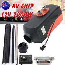 12V 2KW Diesel Air Heater for RV, Motorhome Trailer, Trucks, Boats 2000W Knob ou