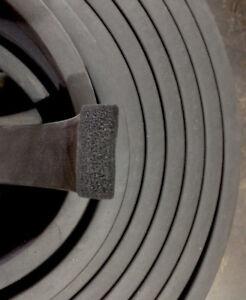 EPDM Rubber Sponge Strip 6mm x 38mm - 15 Metre Coil