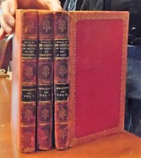 The Tour of Dr. by Rowlandson. 3vols. London., 1821. mixed state. with 80 color
