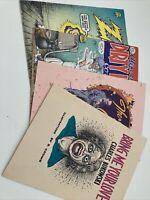 Robert Crumb Comics Lot Of 4 rare oop ZAP Bukowski Adult Comics