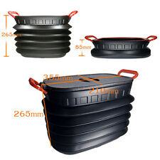 18L Trunk Outdoor Accordian Collapsible Storage Box Bucket Container Organizer