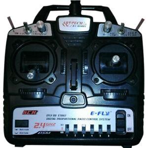 RADIOCOMANDO MODELLO E-FLY ART TECH W19 ETB62B (2.4G) 6 CANALI DSM RADIO CONTROL