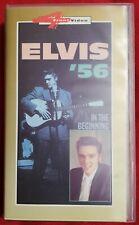 """VHS Elvis Presley """"Elvis '56 - In The Beginning"""""""
