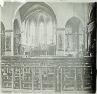 FRANCE Agde Eglise Saint-Sever, Photo Stereo Plaque de Verre VR2L10n19