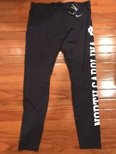 UNC Carolina Tar Heels Nike Women's Mod Tempo Performance Pants XL NWT