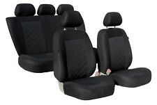 KARO Komplettset Universal Autositzbezüge Sitzbezüge Schonbezüge schwarz Hyundai