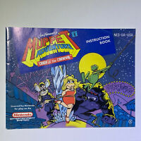 Muppet Adventure Chaos at the Carnival Nintendo NES Manual Only
