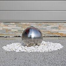Kugel aus Edelstahl für Bau Gartenbrunnen Wasserspiel Zierbrunnen Aussenbereich
