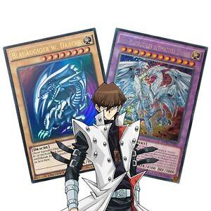 Yugioh! Seto Kaiba Karten - Blauäugig, Drachen, mit den blauen Augen, Deck Set