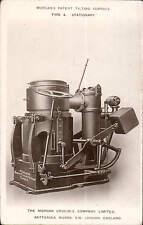 Battersea. Morgans Patent Tilting Furnace by Morgan Crucible Company. PLAIN BACK