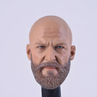 "NEW 1/6 Scale Bearded Head Sculpt Headplay A-20 For 12"" Action Figure"