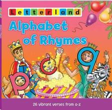 An Alphabet of Rhymes (Letterland Picture Books) by Linda Jones   Paperback Book