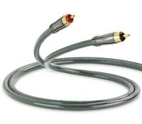 QED Performance AUDIO 40i Stereo Phono RCA Analogue Interconnect Cable 1.0m