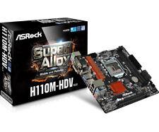 ASROCK SCHEDA MADRE H110M-HDV  RV3.0 SOCKET 1151 2*DDR4 DVI-D/VGA/HDMI