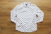 HUF BOB SHIRT/ HEMD NEU WHITE-BLACK GR:M HUF WORLDWIDE