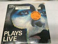 Peter Gabriel Plays Live 1983 2x Vinyl LP Very Good + Free Shipping