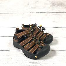 Keen Newport Kids Sandals Size 8 Unisex, Boys, Girls, Waterproof, Brown