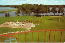 NORTHERNAIRE - OPEN YEAR-'OUND, THREE LAKES, WIS. view of patio and lake