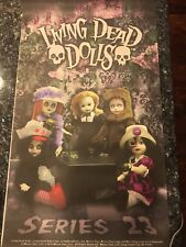 MEZCO TOYZ LIVING DEAD DOLLS SERIES 23 TEA PARTY BANNER VHTF FREE SHIPPING