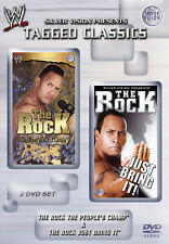 WWE THE ROCK The People's Champ & Just Bring It! 2x DVD TAGGED CLASSICS EDITION