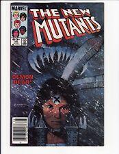 New Mutants Vol 1 #18 1st Warlock Manufacturer's Error 1984 Marvel Comics