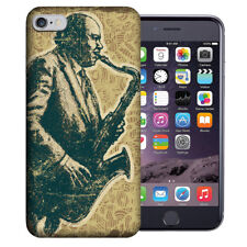 MUNDAZE Apple iPhone 6 Design Case - Vintage Jazz Saxophone Cover