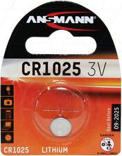 Ansmann CR1025 3V Lithium Coin Cell 1516-0005