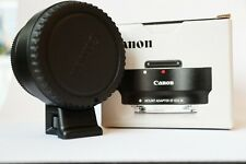 Canon Mount Adapter EF-EOS M with tripod thread and box Hardly used