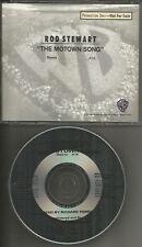 ROD STEWART Motown Song w/ RARE REMIX PROMO radio DJ CD Single 1991 USA MINT