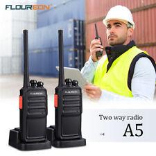 2X Floureon 12KM 16CH Walkie Talkies PMR 446MHZ Hand-funkgerät Sprechanlage