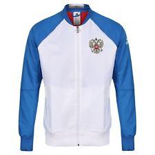 c893c33acc925 Adidas Para Hombre Chaqueta Himno Rusia equipo de fútbol blanco de la Copa  del Mundo Fútbol euros nuevo