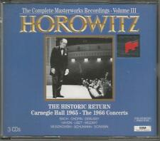 Vladimir Horowitz ~ The Complete Masterworks Recordings Vol. 3